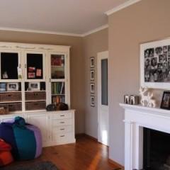 Warmer Neutralton für das Wohnzimmer