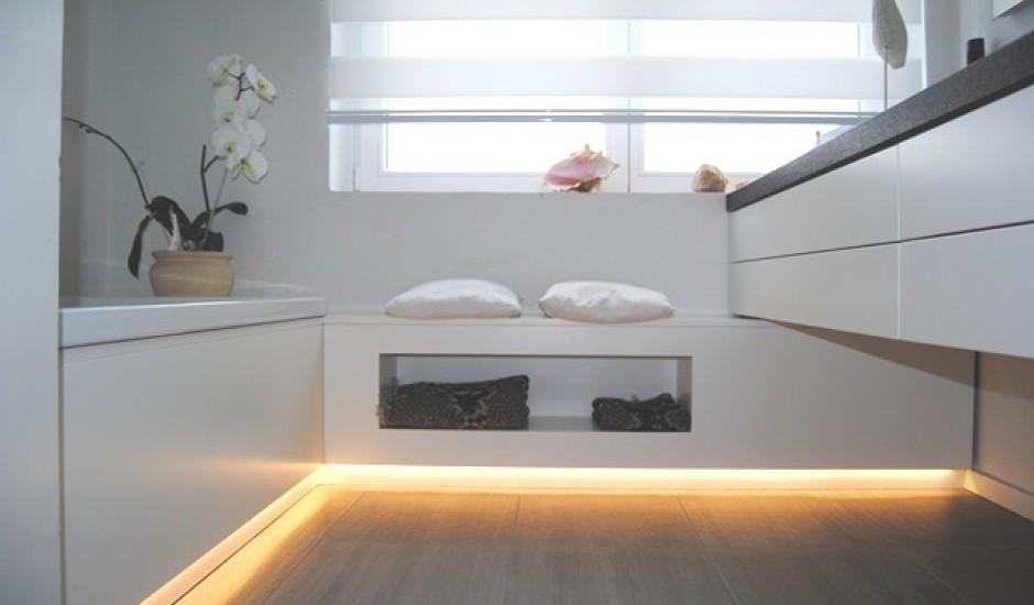 Badgestaltung Ohne Fliesen : Badezimmer ohne fliesen kleine luxus design dusche
